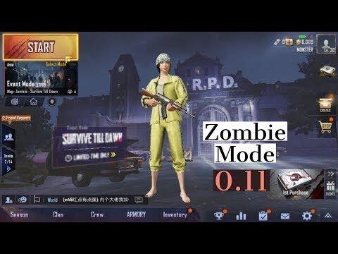 Zombie mode || PUBG MOBILE || ( LIVE ) Vikendi Moonlight zombiemode Newupdate pubgmobile