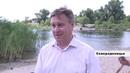 В Северодонецке начались работы по наполнению водой озер Чистое и Парковое