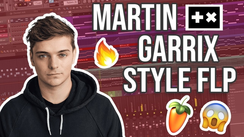 🔥 MARTIN GARRIX STYLE | FULL FL STUDIO TEMPLATE (FLP)