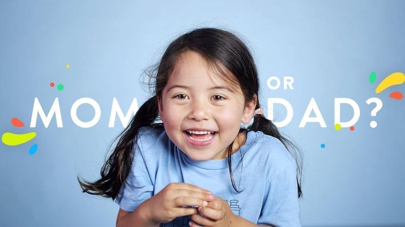 100 Детей Отвечают на Вопрос Кто лучше Мама или Папа
