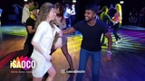 (Mobile Camera) Galina Lazovskaya and Man Salsa Dancing at SFS 2018 in eXtra, Zurich, Friday 23.02.2018
