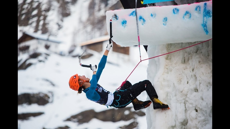 LIVE! Beijing, China l Lead Finals l 2019 UIAA Ice Climbing World Cup