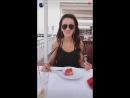 Ольга Бузова Бузик ест арбузик