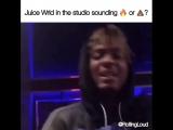ФРИСТАЙЛ ОТ JUICE WRLD НА СТУДИИ Cloud Music