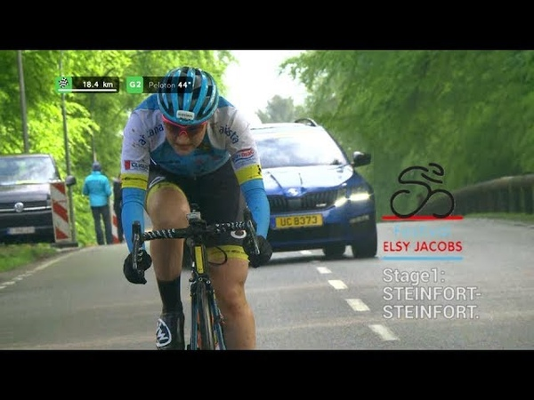 UCI Women Cycling Elsy Jacobs stage1 Steinfort 2019