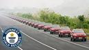 Largest autonomous car parade Guinness World Records