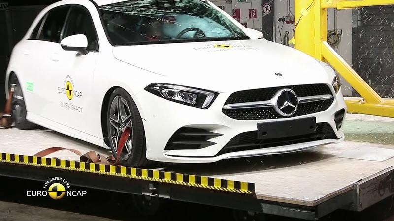 Euro NCAP Crash Test of Mercedes Benz A Class