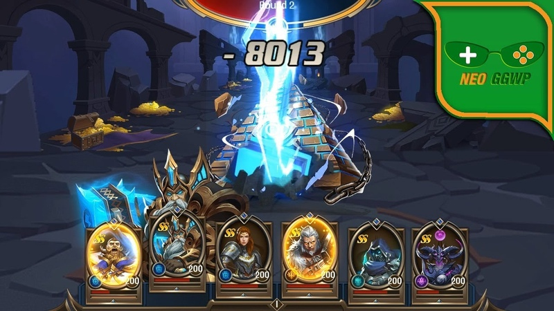 Dungeon Rush: Rebirth (Android iOS APK) - Role Playing Gameplay