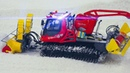 AMAZING RC SCALE MODEL PISTENBULLY IN ACTION!! PISTENBULLY 600 SNOW MILLING MACHINE