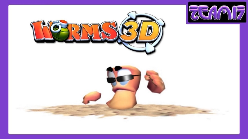 Worms 3D (2003) All Movies / Cutscenes (re-encoding in HD)