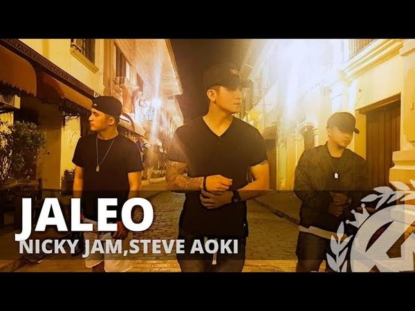 JALEO by Nicky Jam,Steve Aoki | Zumba | Reggaeton | TML Crew Kramer Pastrana