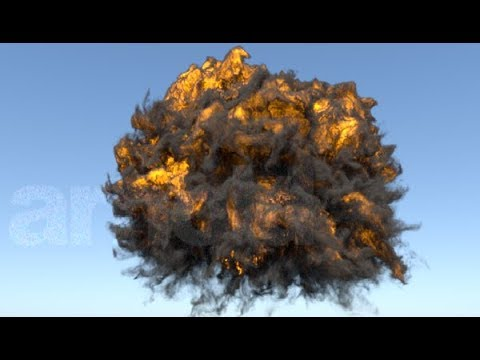Getting Started Turbulence FD OpenVDB Arnold Render C4DtoA