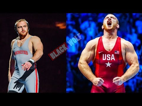 A POWERFUL WRESTLER Kyle Snyder Workout OLYMPIC CHAMPION