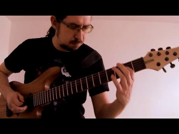 J.S. Bach - Cello Suite 1(G major) - Prelude (Electric Guitar)