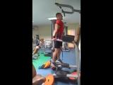 Dips +48 kg x 27 reps