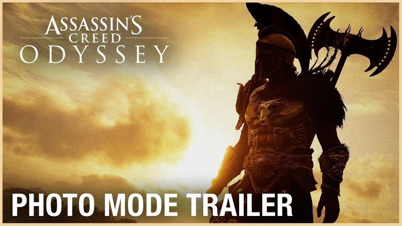 Assassin's Creed Odyssey Photo Mode Trailer Ubisoft NA