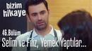 Selim ve Filiz birlikte yemek yaptılar Bizim Hikaye 46 Bölüm