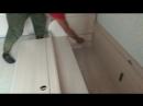 Складывание детской двухспальной кровати в односпальную