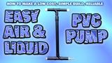 EASY build air &amp liquid PVC pump - UK spec