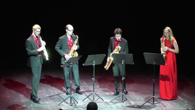 Ad Libitum Saxophone Quartet Histoire du Tango