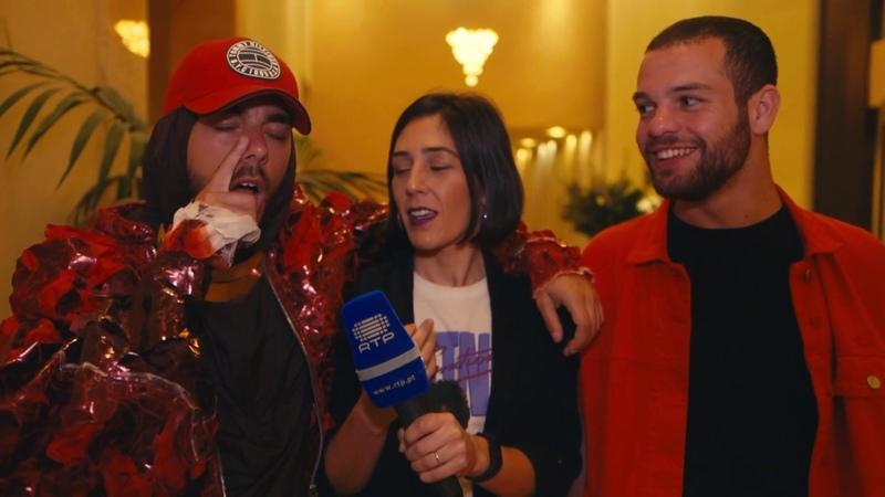 Telelavive Conan Osiris sobre o segundo ensaio | Eurovisão 2019