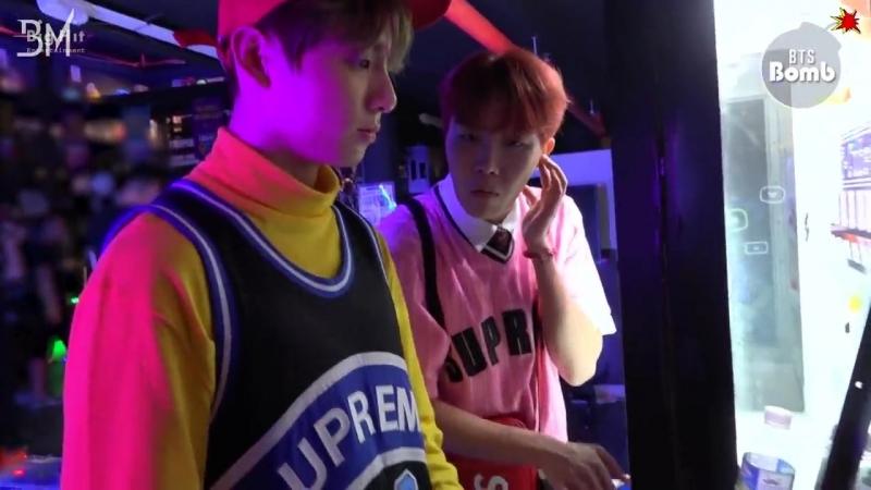 [RUS SUB][BANGTAN BOMB] BTS' exciting Game room 1 - BTS (방탄소년단)