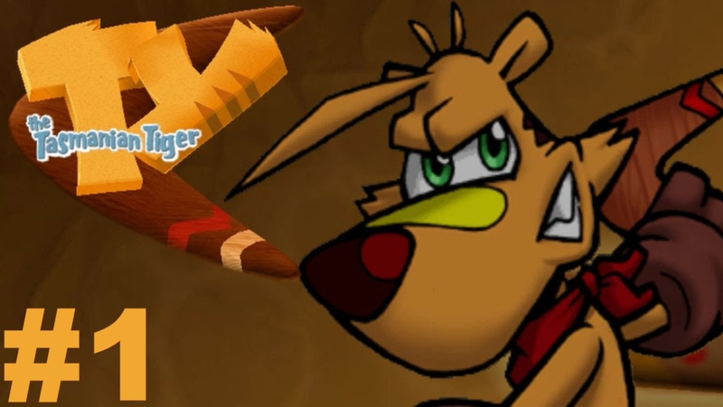 TY the Tasmanian Tiger Remastered (PC) Part 1 Whats Happening?