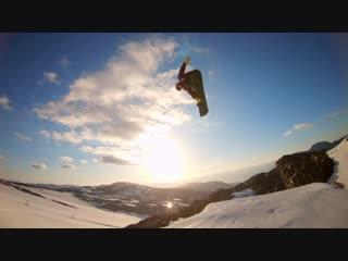 GoPro Sunset Snowboarding with Sage Kotsenburg, Halldór Helgason and Sven Thorgren