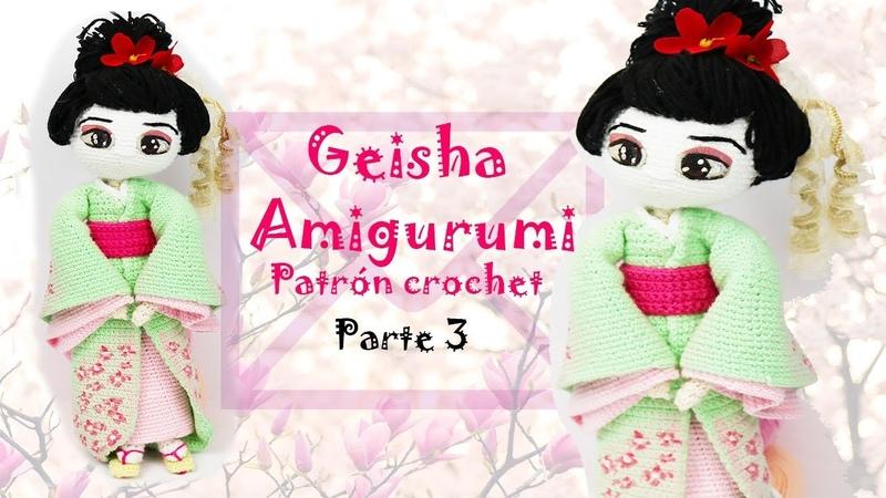 Amigurumi Geisha (parte 3/5)