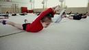 Real training in rhythmic gymnastics Russia Художественная Гимнастика
