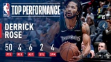 Derrick Rose Records A New CAREER HIGH 50 Points In Emotional Victory | October 31, 2018 #NBANews #NBA #Timberwolves #DerrickRose