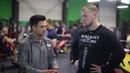 Вячеслав Угринов Илья Коренев тренировка ног интервью