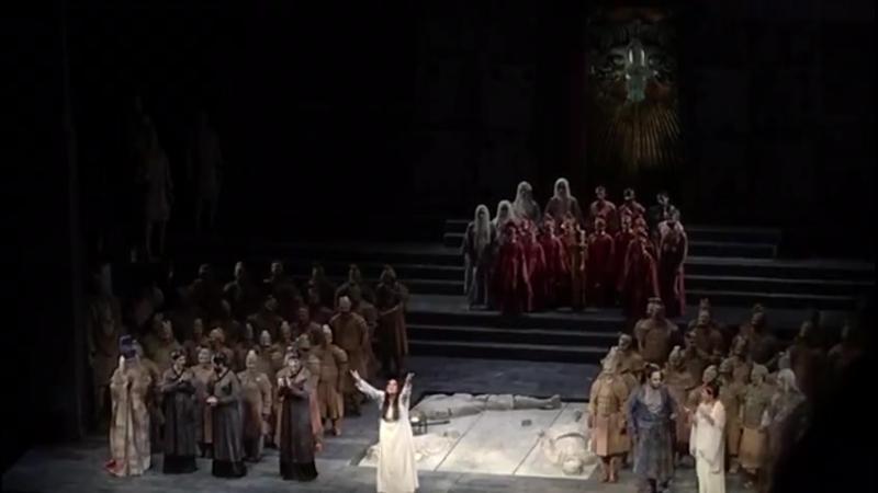 Турандот Токио 23 06 2018 Поклоны A big Triumph tonight in Tokyo with the glorious Maria Guleghina