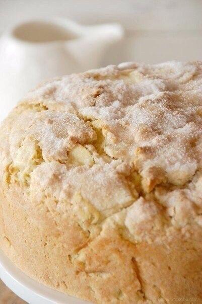 Нежный ирландский яблочный пирог с курдом