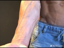 Buff Shredded Fitness Model Kovie Posing in Speedo Underwear