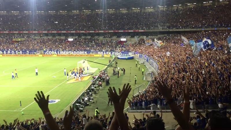 Torcida do Cruzeiro dando Show
