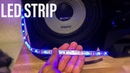 How to connect LED STRIP to speaker(BASS)