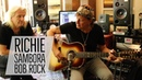 Richie Sambora Bob Rock with Norm at Richie's Home Studio | Norman's Rare Guitars