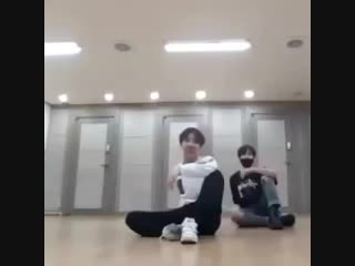 remember this HOW THE FUCK JUNGKOOK AND HOSEOK SPUN THEMSELVES AROUND LIKE FOOD IN MICROWAVE. BRUH IM-.mp4