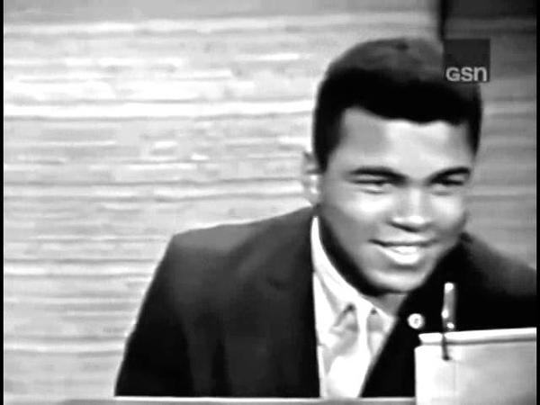 Muhammad Ali on a gameshow 1965