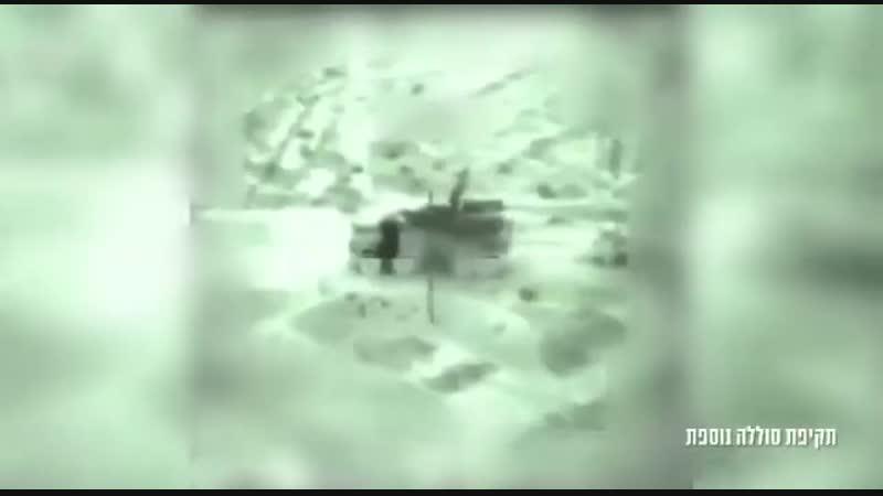 Уничтожили ЗРПК Панцирь-С1 в ходе ночных израильских ударов в Сирии.