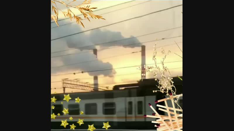 поезд ускоряется