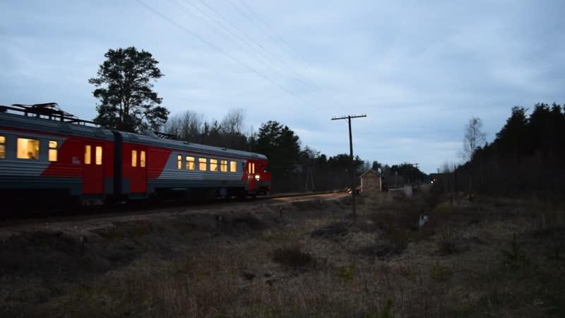 ДТ1-009 проехал в сторону станции Ермилово