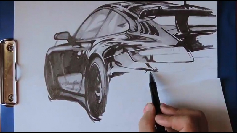 Speed art drawing 2018