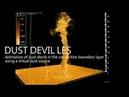 Large Eddy Simulation of Dust Devils