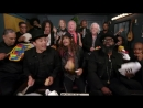 Aerosmith The Roots and Jimmy Fallon rock out with Tonight Show Classroom Instruments on Wednesday's The Tonight Show Starrin
