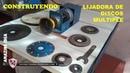 CONSTRUYENDO Lijadora de Discos Multiples ORBITAL