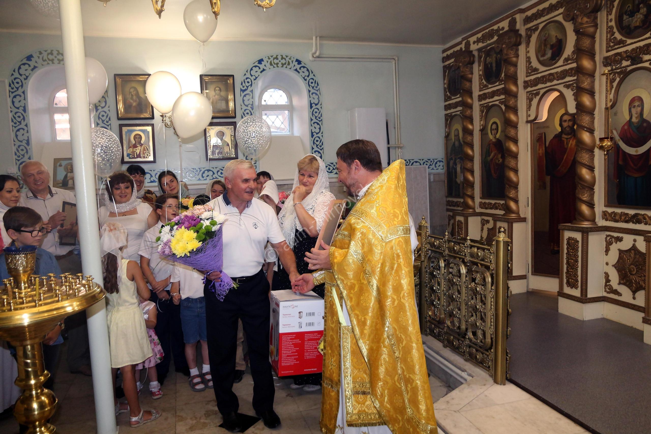 Юбилей в храме Святаго Духа Утешителя г. Жирновска.