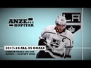 Anze Kopitar ( 11) ● ALL 35 Goals 2017-18 Season 1 Playoff Goal (HD)