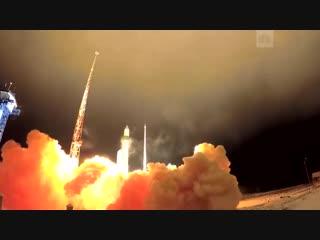 Пуск ракеты с космодрома «Плесецк»